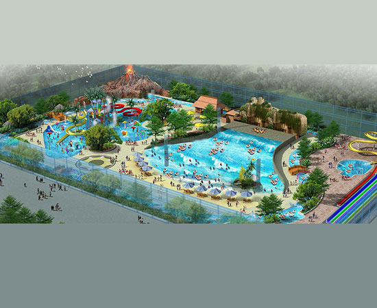 Free Water Park Design In Indonesia