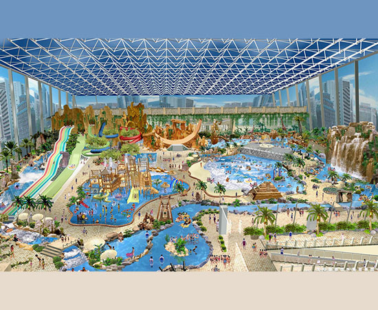 Water Park Design In Indonesia